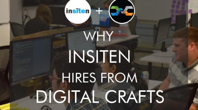Insiten CEO Hiring Junior Developers From DigitalCrafts