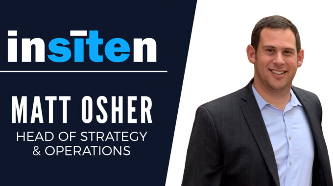 New Head Of Strategy To Guide Insiten's Expanding Line Of Customer Offerings